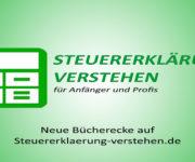 Neue Bücherecke auf Steuererklaerung-verstehen.de