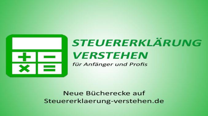Neue Bücherecke auf Steuererklaerung-verstehen.de | Steuerberater Blog