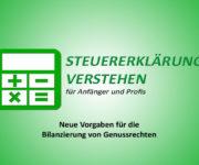 Neue Vorgaben für die Bilanzierung von Genussrechten
