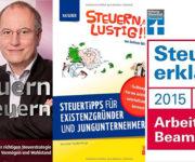 Drei Bücher für eine einfache Steuererklärung