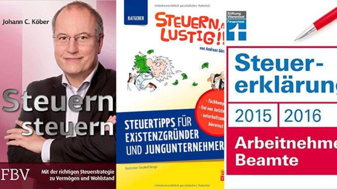 Drei Bücher für eine einfache Steuererklärung   Steuerberater Blog