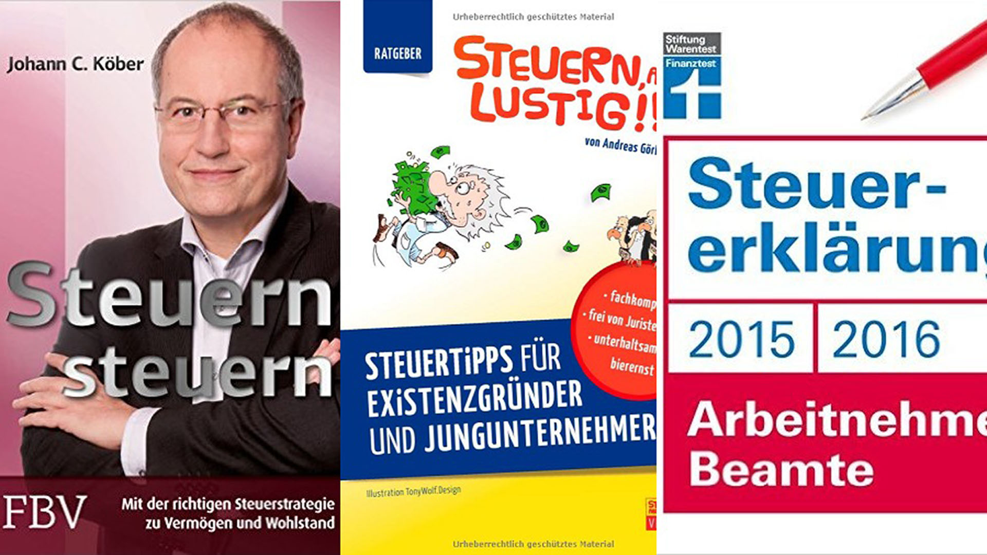 Steuer Bücher im Steuerberater Blog | Steuerberater Blog